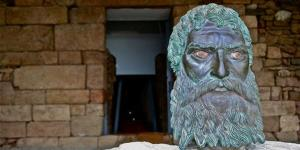 The bronze head of King Seuthes III