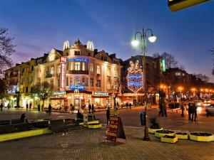 Pedestrian zone of Varna